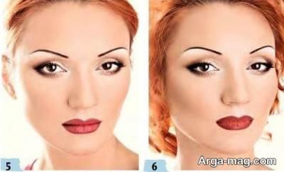 مدل آرایش برای چشم های خمار