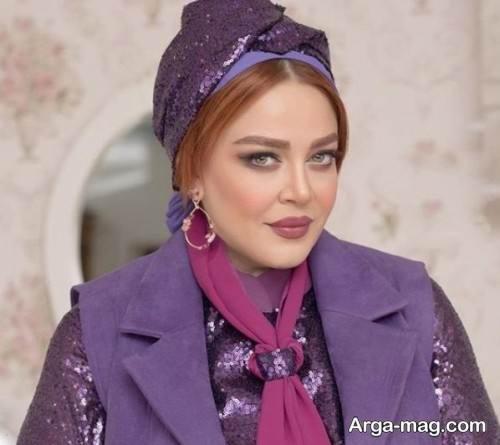 آرایش صورت شیک و بی نظیر برای خانم های با حجاب