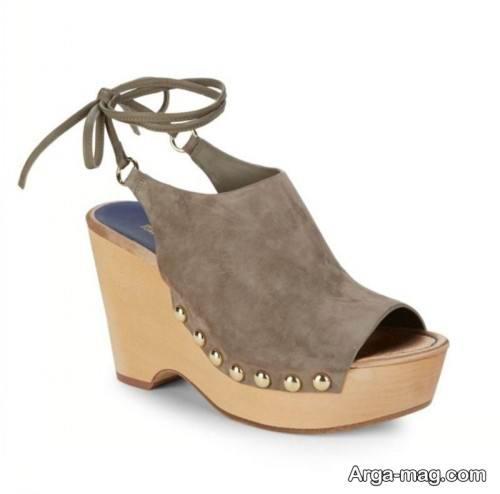 کفش تابستانی پاشنه پهن