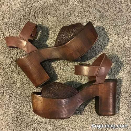 مدل کفش زنانه پاشنه پهن