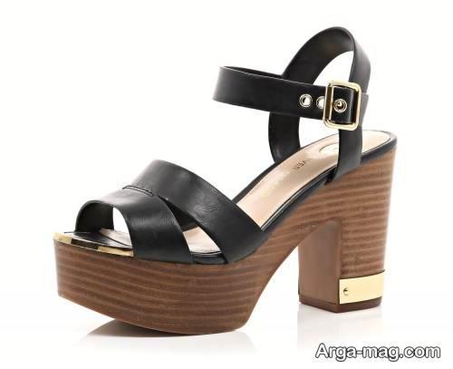 کفش پاشنه پهن و شیک زنانه