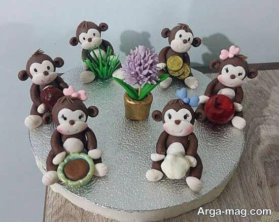 مدل سفره هفت سین میمون