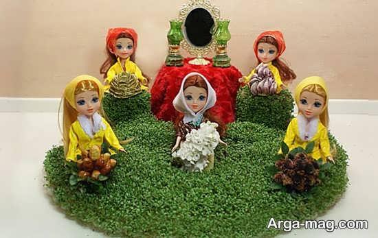 مدل هفت سین عروسکی جذاب و زیبا