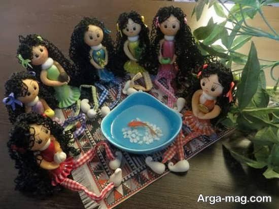 هفت سین مدل عروسکی