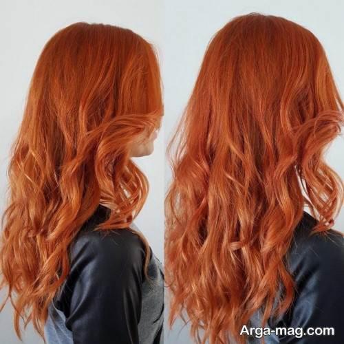 رنگ موی مسی برای عید نوروز 99