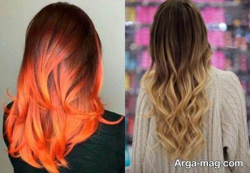 رنگ موی زنانه برای عید 99