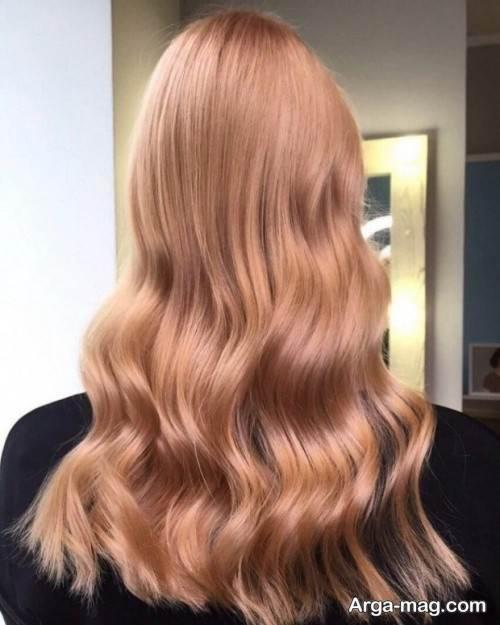 رنگ مو روشن زنانه