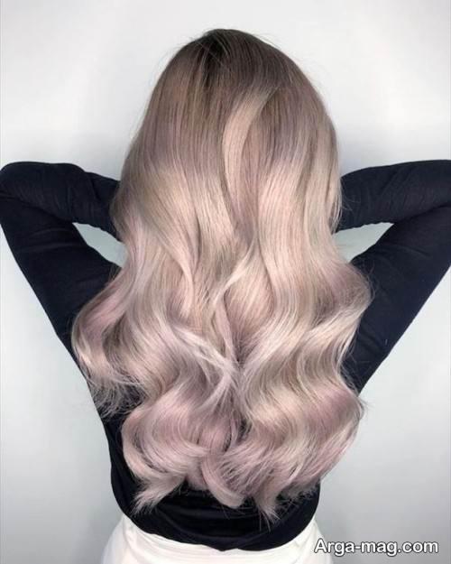 رنگ موی روشن برای عید 99
