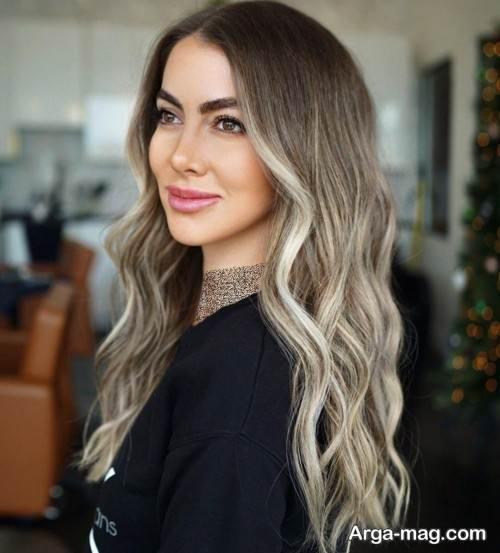 رنگ مو زنانه برای عید 99