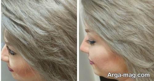 رنگ موی بلوند شنی