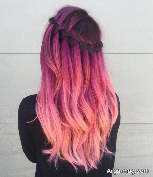 رنگ موی فانتزی 99