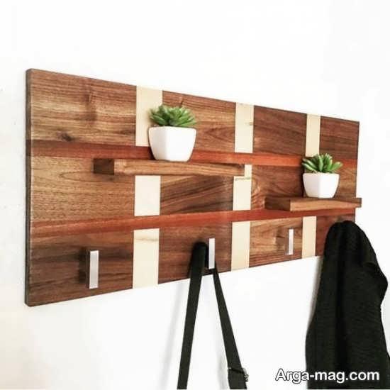 مدل جالباسی چوبی