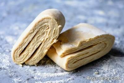روش تهیه خمیر هزارلا در خانه برای پخت شیرینی