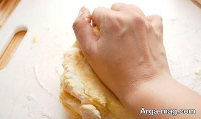 دستور تهیه خمیر هزارلا
