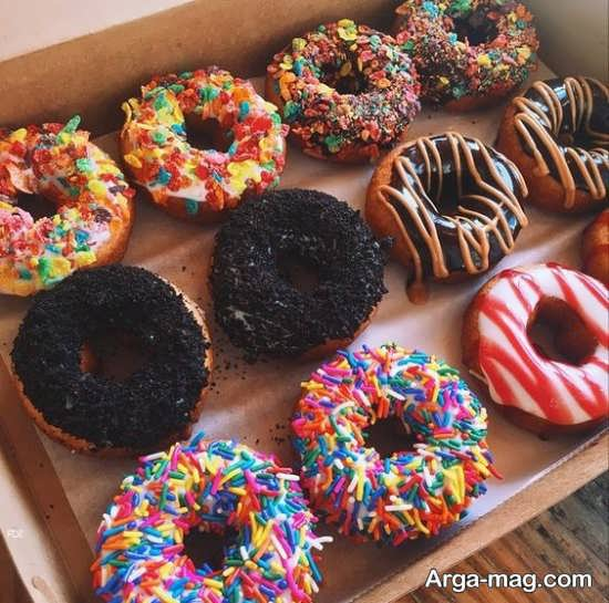 مدل متنوع تزیین شیرینی خانگی