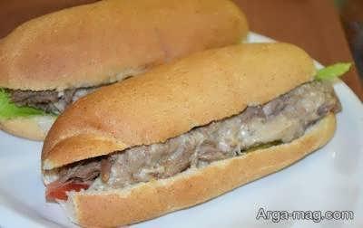طرز پخت ساندویچ رست بیف عالی و بینظیر در طعم و ظاهر