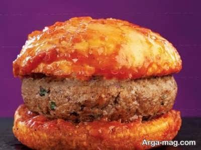 طرز تهیه همبرگر خیس با طعم عالی