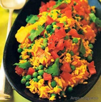 روش تهیه بریانی سبزیجات خوشمزه و فوق العاده