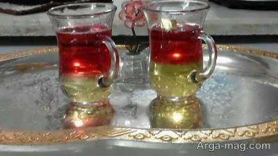طرز تهیه چای دو رنگ خوش مزه و خوش رنگ