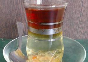 طرز تهیه چای دو رنگ با طعم و ظاهری زیبا و محبوب
