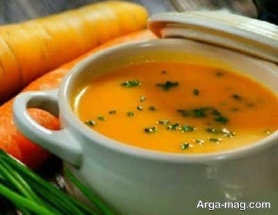 آموزش تهیه سوپ هویج