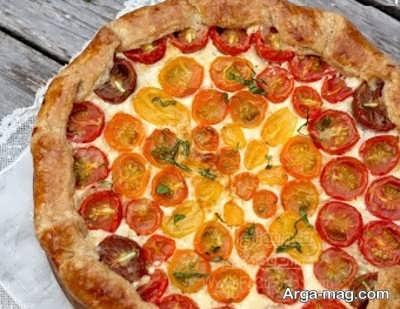 دستور پخت اسنک گوجه فرنگی