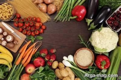 داشتن رژیم غذایی مناسب