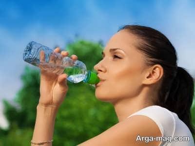 نوشیدن آب برای افزایش رشد موها