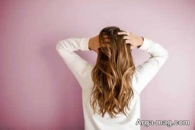 قرار ندادن موها درون حوله