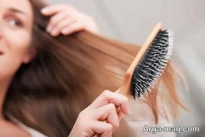 چگونگی شانه زدن موها