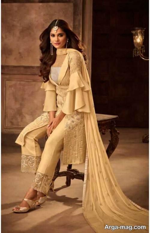 لباس هندی دخترانه زیبا و شیک