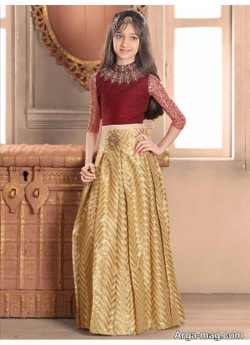 لباس هندی دخترانه نوجوان