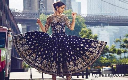 لباس هندوستانی دخترانه