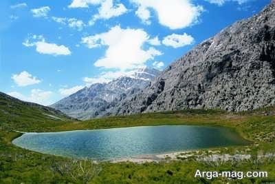 آشنایی با دریاچه کوه گل