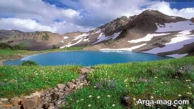 کوه گل در استان گهگیلویه و بویر احمد