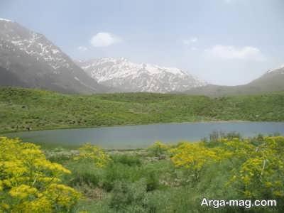 بهترین نهر، دریاچه کوه گل