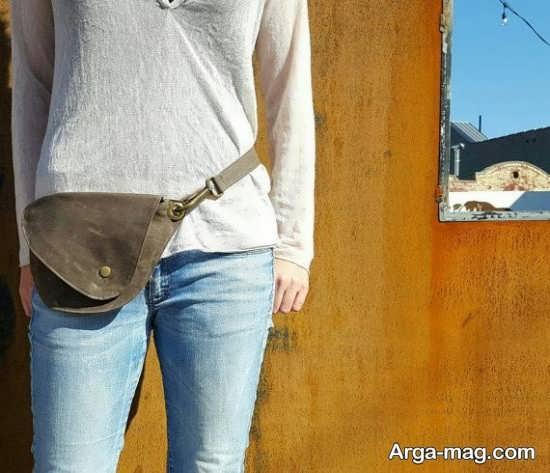 مدل کیف کمری جدید دخترانه