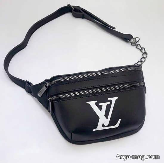 نمونه کیف کمری مشکی زنانه