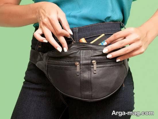 مدل کیف کمری جالب و زیبا