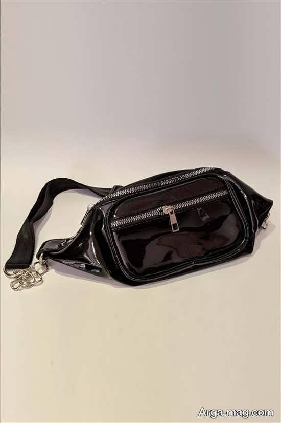 کیف کمری مشکی رنگ زنانه