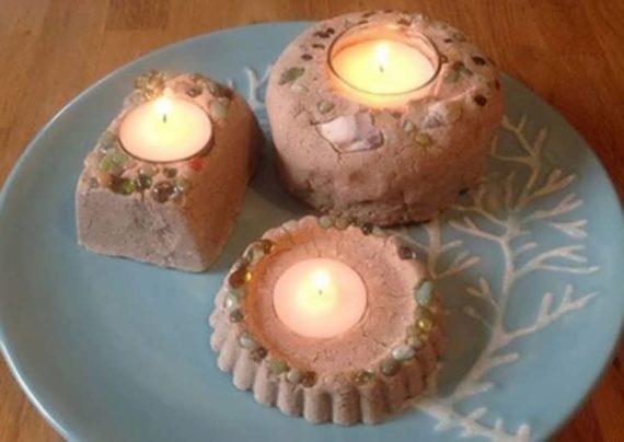 ساخت شمع ماسه ای به همراه عکس