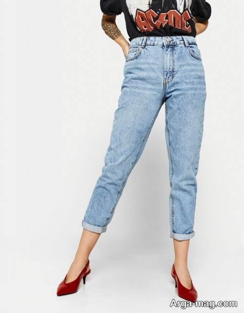 مدل شلوار جین مام فیت