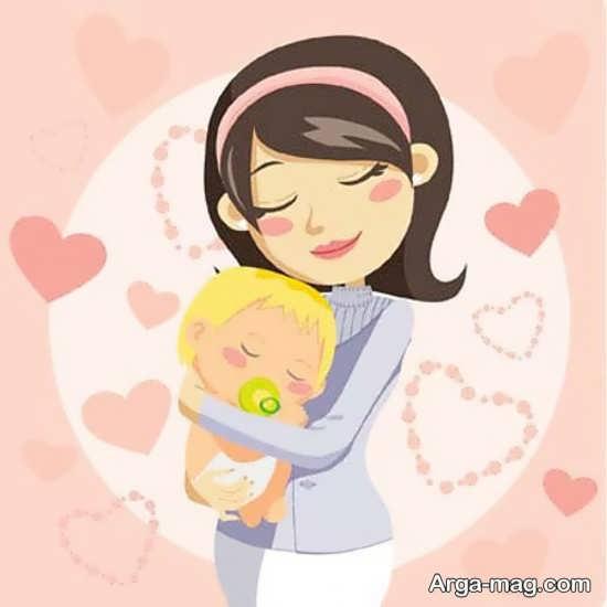 نقاشی درباره مادر