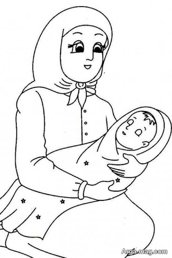 رنگ آمیزی روز مادر