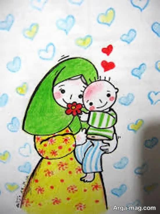ایده طراحی درباره روز مادر