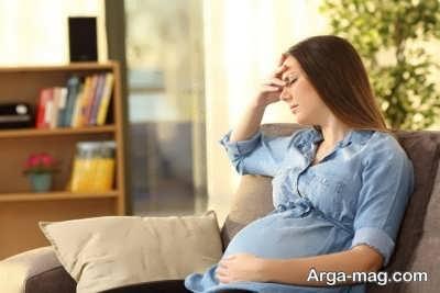 علل ضعف حرکتی در بارداری