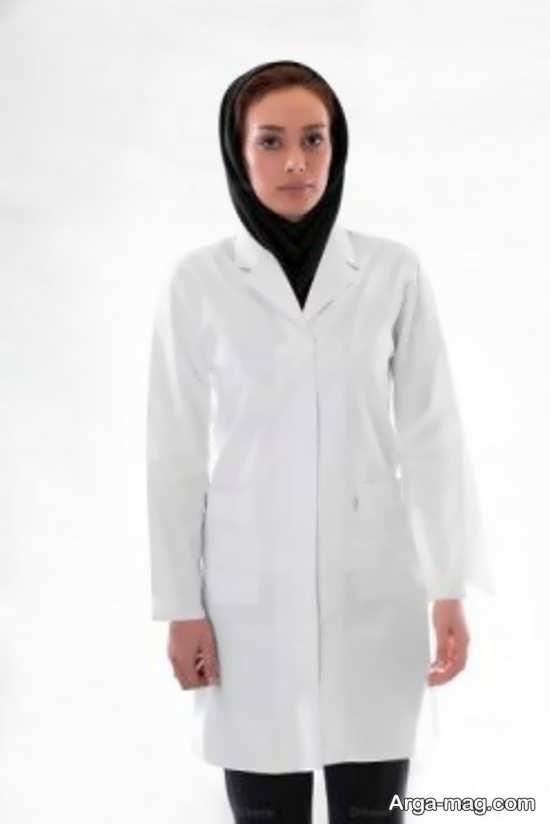مدل روپوش سفید پرستاری و پزشکی