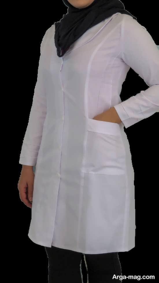 مدل روپوش پرستاری شیک زنانه