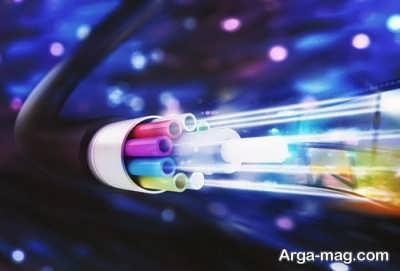 فیبر نوری و سرعت بالای آن در انتقال داده