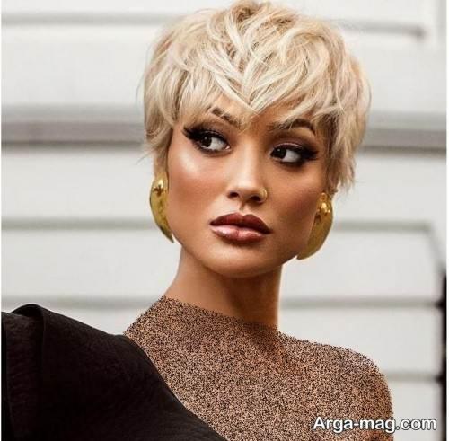 مدل مو زنانه پیکسی
